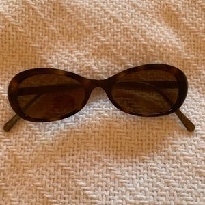Oliver Peoples Small Oval 90s Vintage Sunglasses